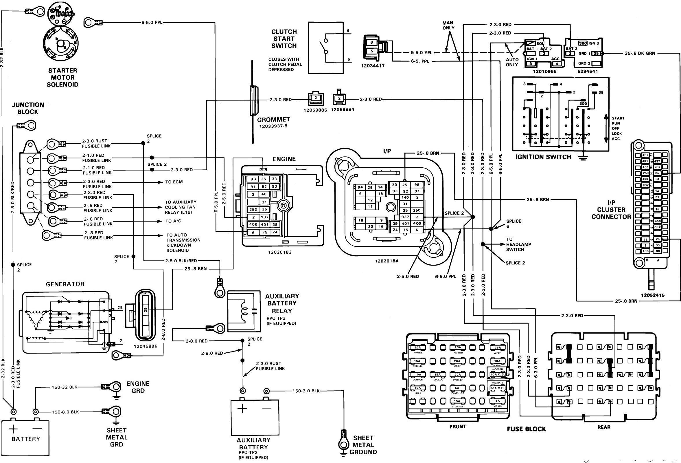 1989 Chevy C1500 Wiring Diagram