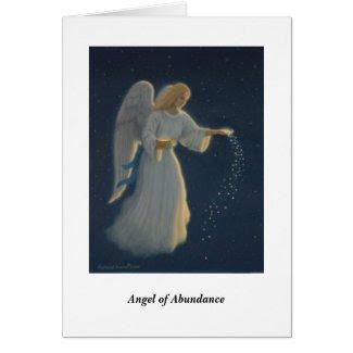 Angel of Abundance Card