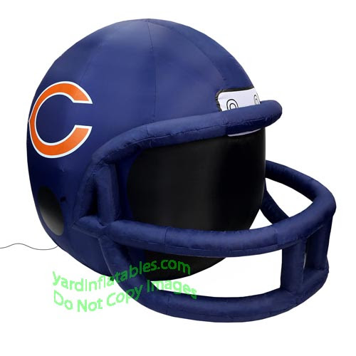 Air Blown Inflatable 4 NFL Chicago Bears Team Inflatable Helmet