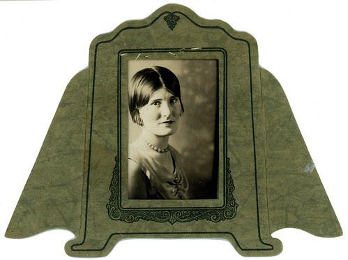portrait in mat