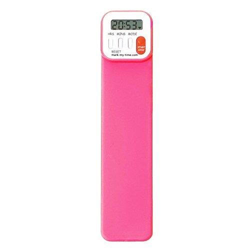 Mark My Time Digital Bookmark Neon Pink
