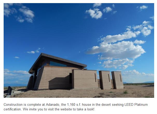 Rammed Earth Solar Homes Inc