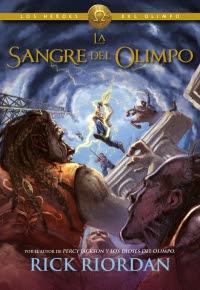 Héroes del Olimpo 5. La sangre del Olimpo (Rick Riordan)