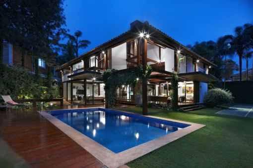 Garden House Plans by David Guerra picture
