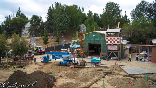 Disneyland Resort, Disneyland, Monorail, Disney California Adventure, Condor, Flats, Grizzly, Peak, Airfield, Construction, Refurbishment, Refurbish, Refurb