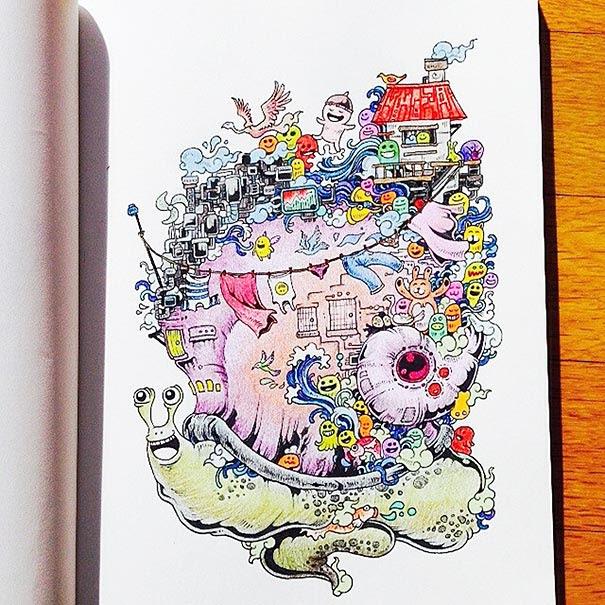 libro-colorear-adultos-doodle-invasion-kerby-rosanes (7)