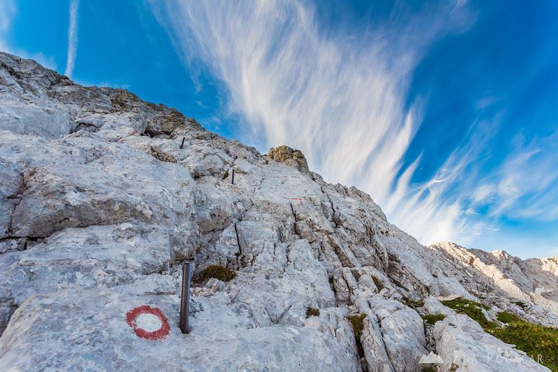 Climbing straight up