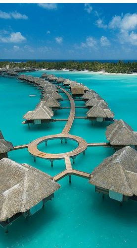 Four Seasons Bora Bora...someone please take me here!