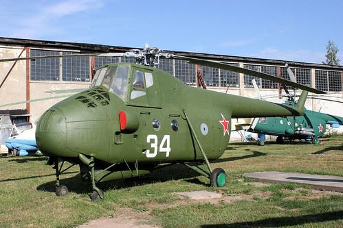 Mil Mi-4M 34 white