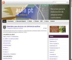 Aula PT, recursos para la elaboración de adaptaciones curriculares