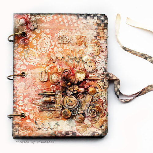 Prima mixedmedia book