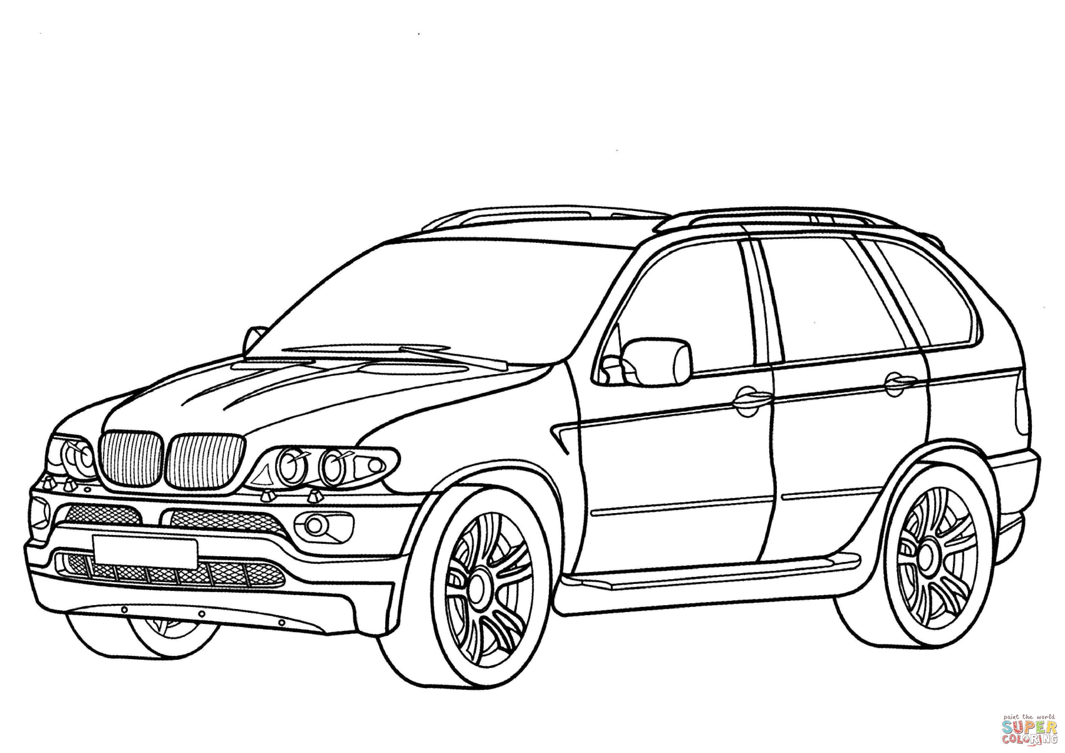 Coloring Pages Bmw Super Kins Author
