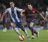 Iniesta - Barcelona vs Espanyol Match on April 19 at Camp Nou