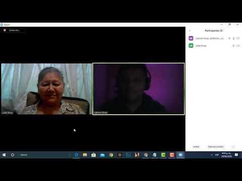Tutorial hacer videoconferencias en Zoom.us Invitada especial Mamá