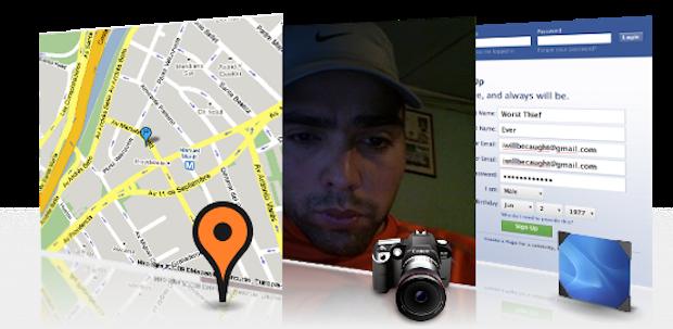 Com o Prey, pode-se obter a localização, capturar a tela ou tirar uma foto do usuário do dispositivo (Foto: Divulgação)