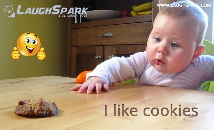 I Like Cookie Cute Baby Pictures With Captions
