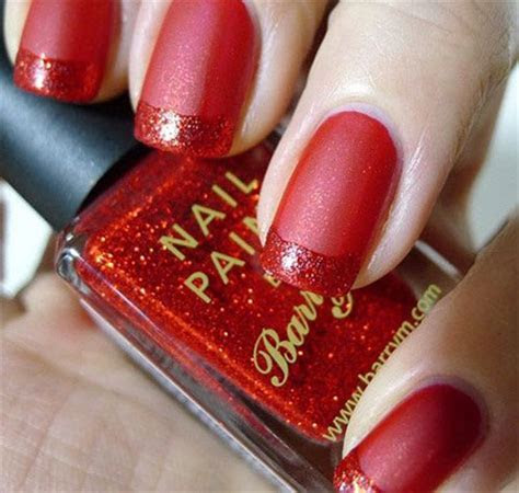 Simple Red Wedding Nail Art Designs & Ideas 2014