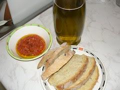 tomato bread olive oil