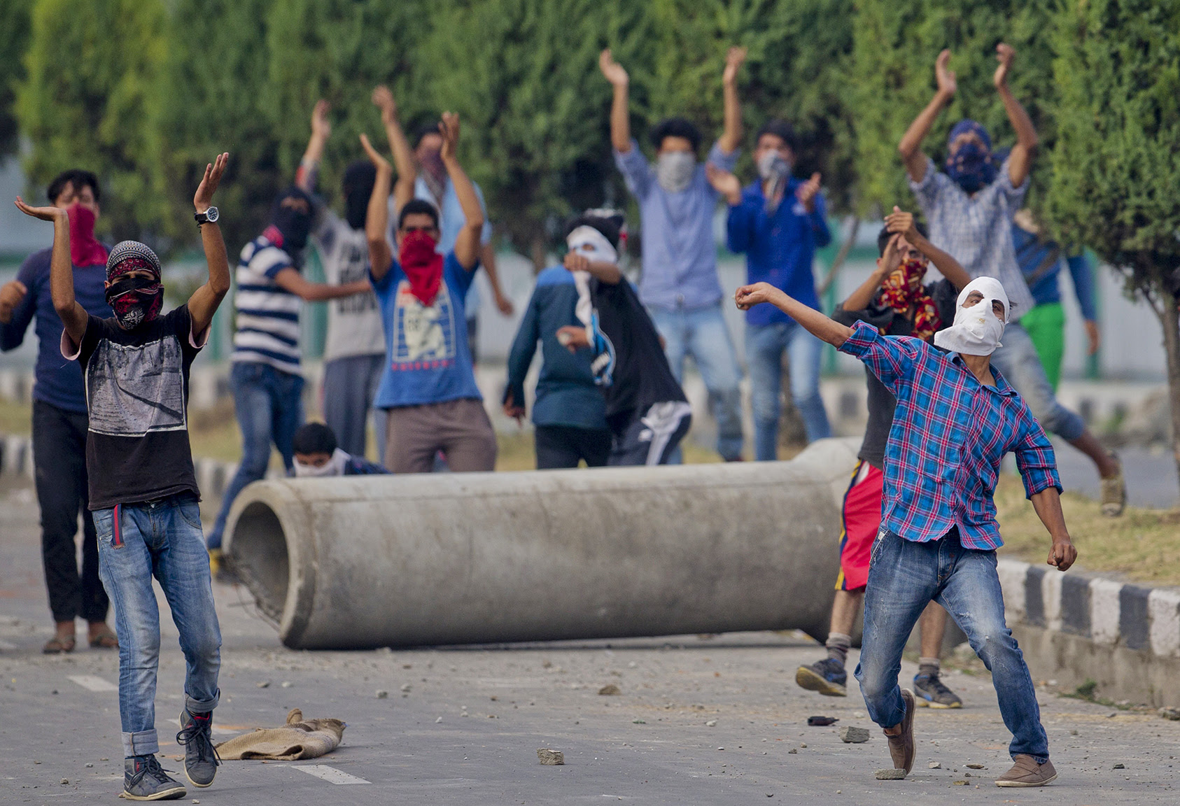 India Kashmir Protests