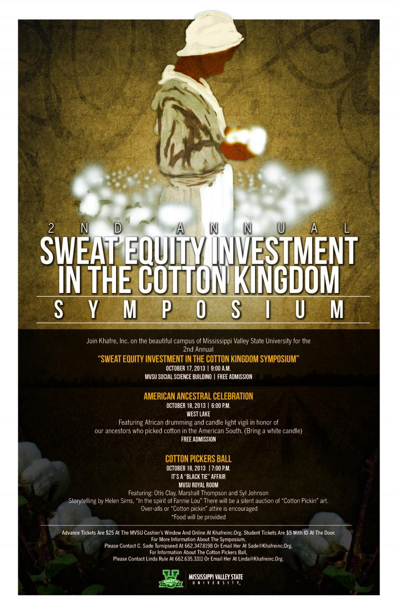 Khafre, Inc - NEWS/UPDATESFOR IMMEDIATE RELEASE The 4th Annual Sweat Equity Investment in the ...