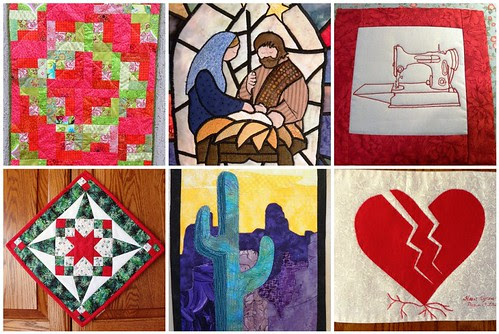 Mosaic of WayMooreFunQuilts Quilts for Season 3 of Project QUILTING