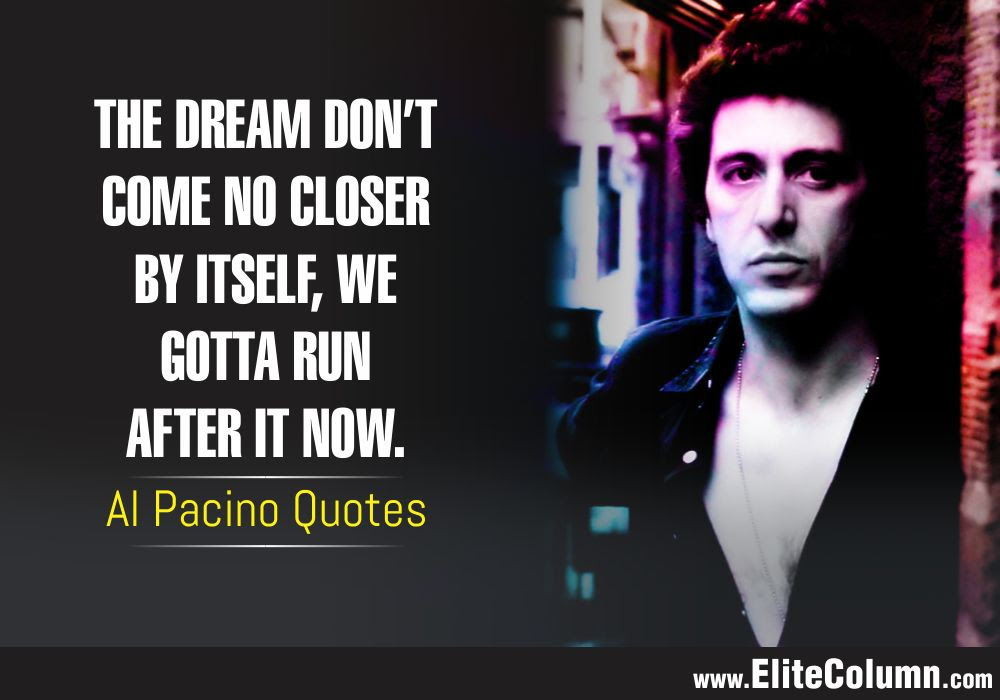 Pacino Scarface Quotes