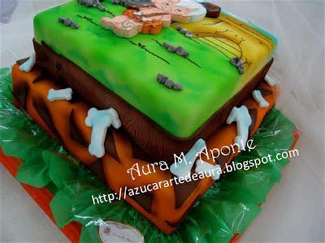 Flintstones Pebbles Bambam Cake Ideas and Designs