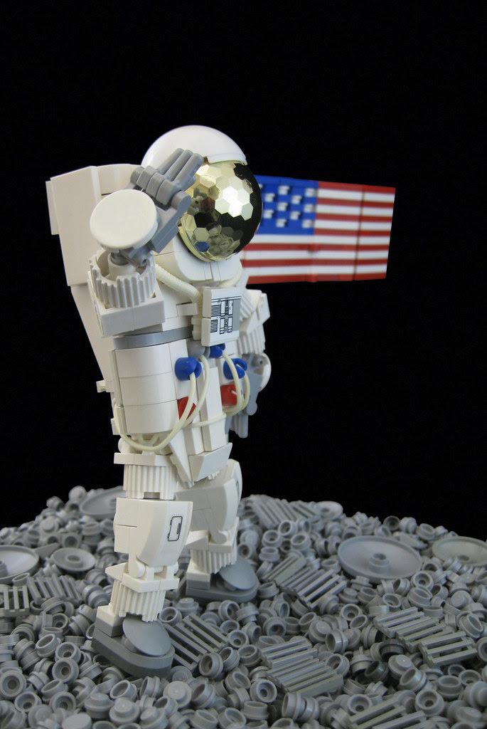 Moonwalker Flag Salute