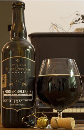 Les Trois Mousquetaires Porter Baltique (Grande Cuvée 2011) 17/24 by Cody La Bière