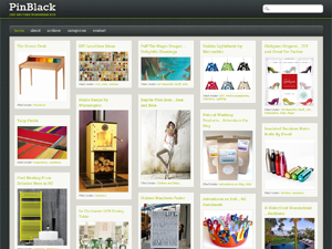 PinBlack Free WordPress Theme