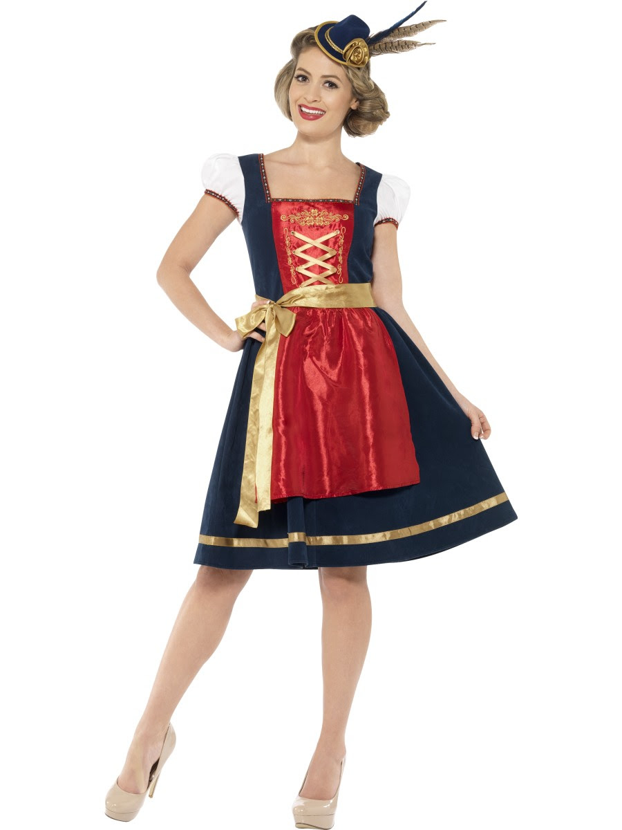 adult deluxe traditional claudia bavarian costume  45263
