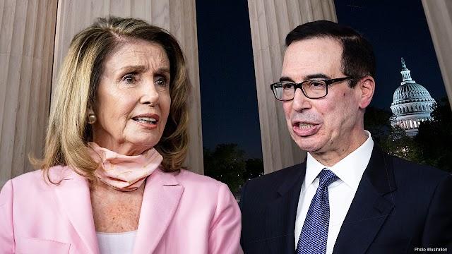 Mnuchin, Pelosi COVID-19 stimulus talks continue as Schumer fails to adjourn Senate until after 2020 election