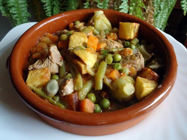 Mis recetas de cocina menestra de verduras con carne - Menestra de verduras en texturas ...