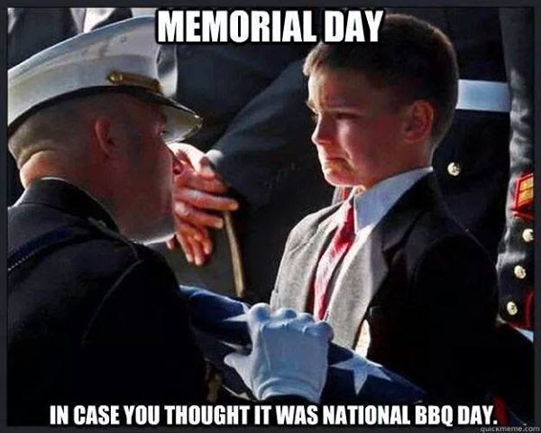 Remembering the true meaning of Memorial Day.