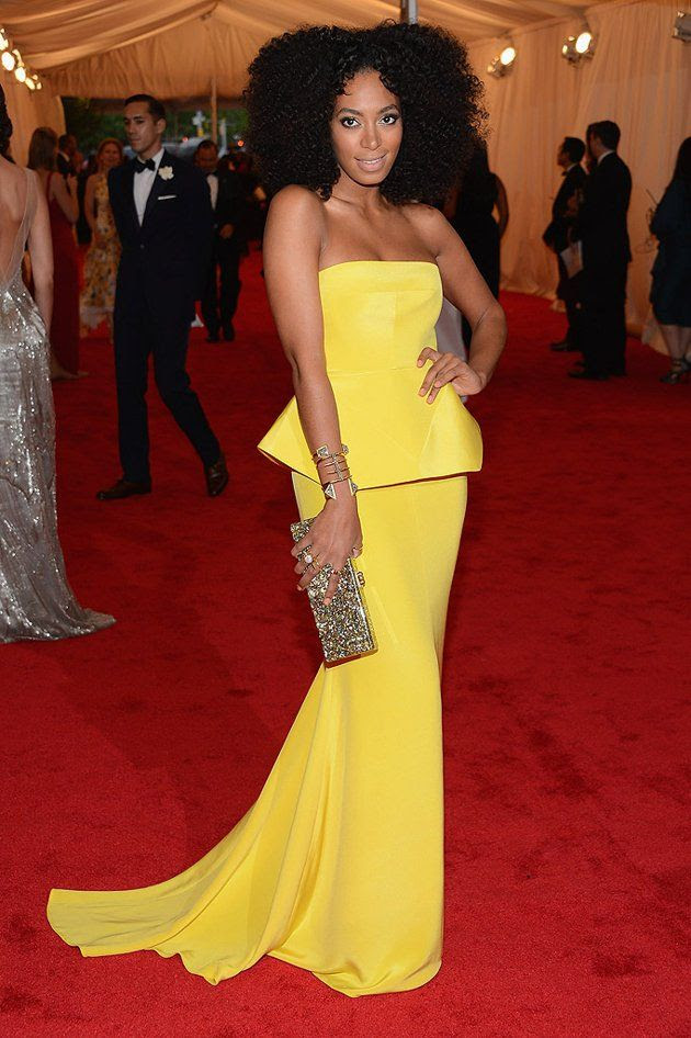 Costume Institute Gala Met Ball - May 7, 2012, Solange Knowles