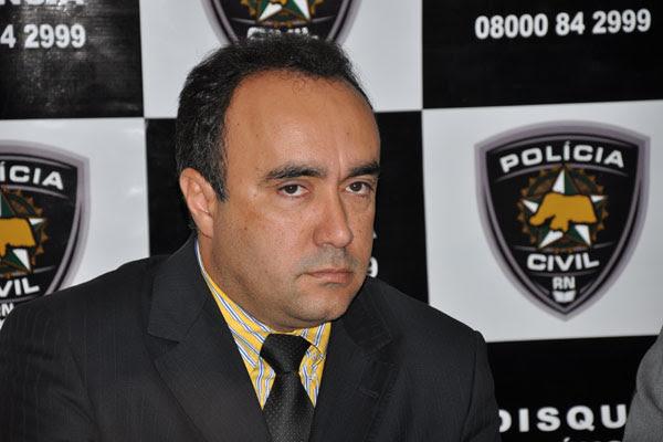 Delegado Ronaldo Gomes é um dos investigados sobre crimes cometidos em Natal e interior do estado