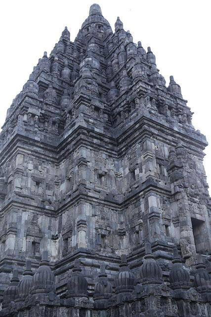 The top part of Shiva temple at Prambanan