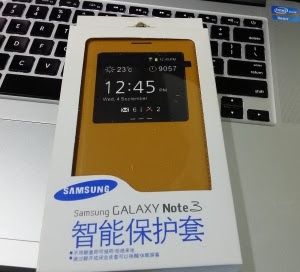 Galaxy Note 3 S-View Cover 中国大陸版