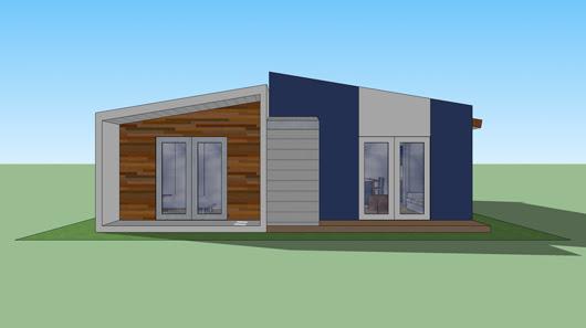 Plano Casa Moderna 90m2 Planos De Viviendas