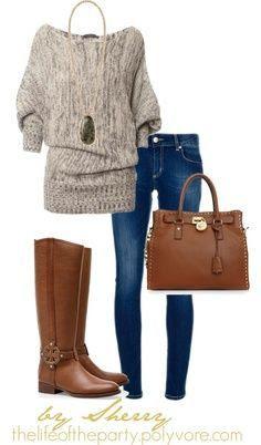 casual fall clothing ensemble - love it minus ...