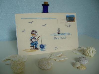 enveloppe pêcheur