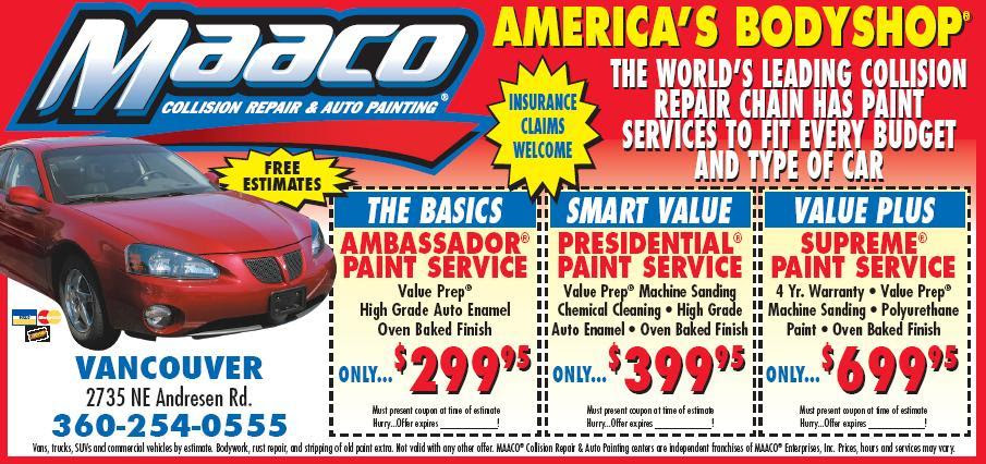 Car Paint Prices >> 89 Maaco Paint Truck Cost