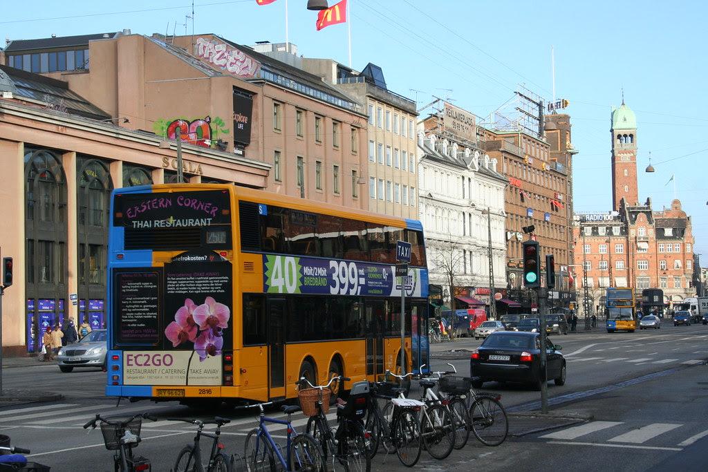 Bus på Vesterbrogade