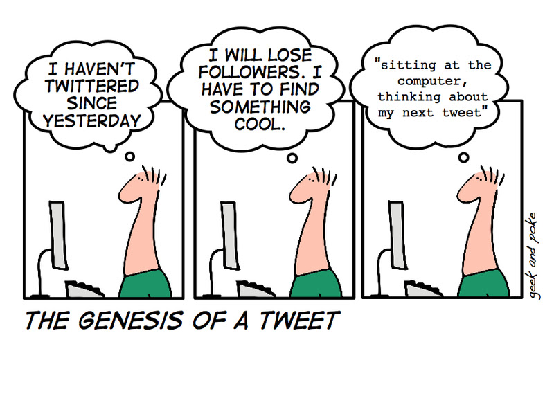 Twitter Comic from Geek and Poke [click to enlarge]