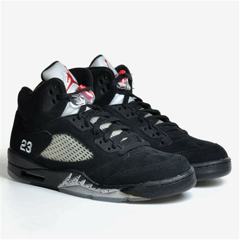 air jordan  retro black silver size  varsity red  og  mens   ebay