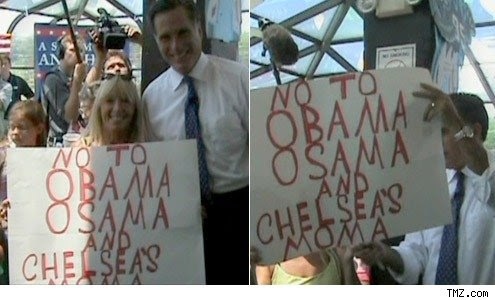Romney Laughing It Up With Wingnuts