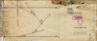 Online Math: Geometry Problem 550 Artwork.