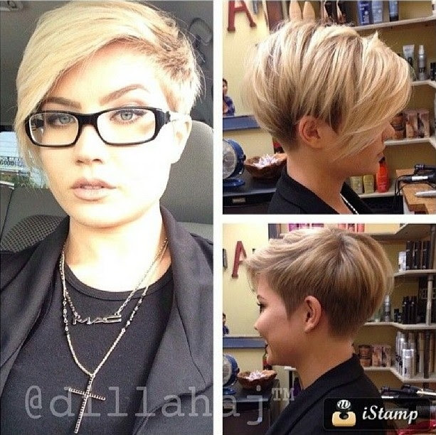 Dirtycapitol Hairstyle Short Hair Style For Chubby Woman