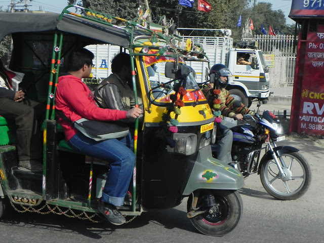 The ubiquitous autorickshaw