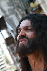 Allan My Friend Plays Jesus To The Hilt..Hope Humanity No Guilt by firoze shakir photographerno1